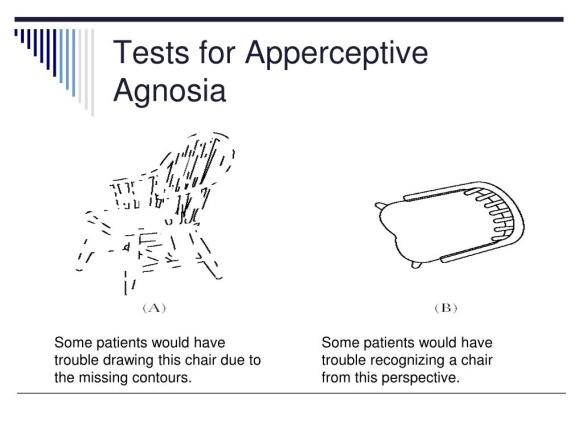 tests-for-apperceptive-agnosia-l